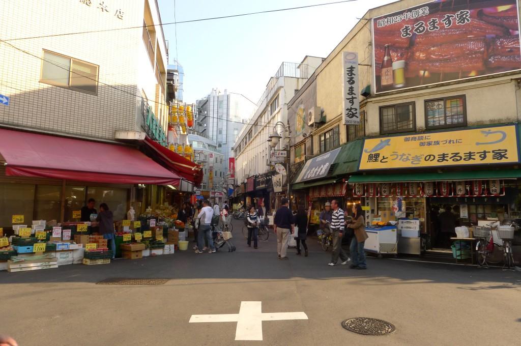 赤羽の商店街
