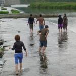 川遊びが楽しい季節